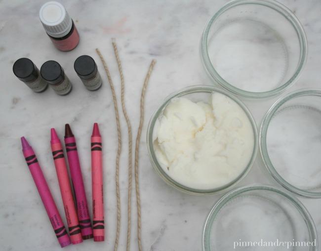 diy candle materials