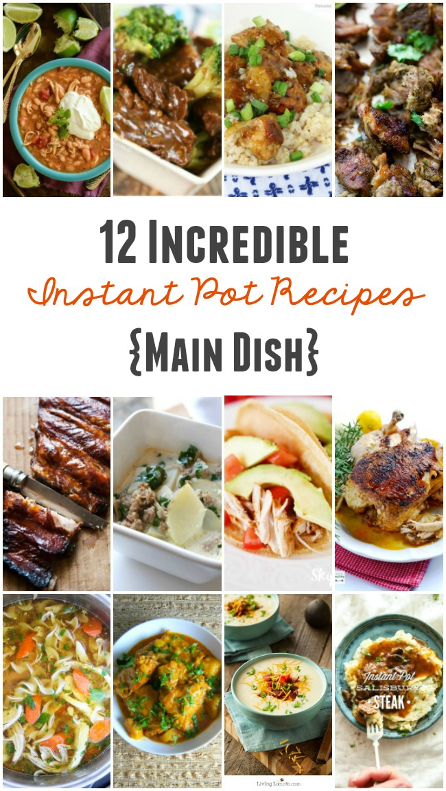 12 Instant Pot Recipes