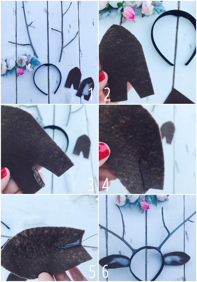 Deer Headband Instructions